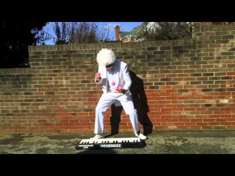 Worlds Fastest Piano Juggler Part 8 Christmas