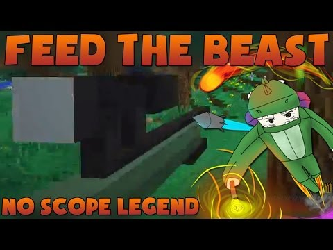 Minecraft: Mindcrack Feed The Beast S2E5 - No Scope Legend