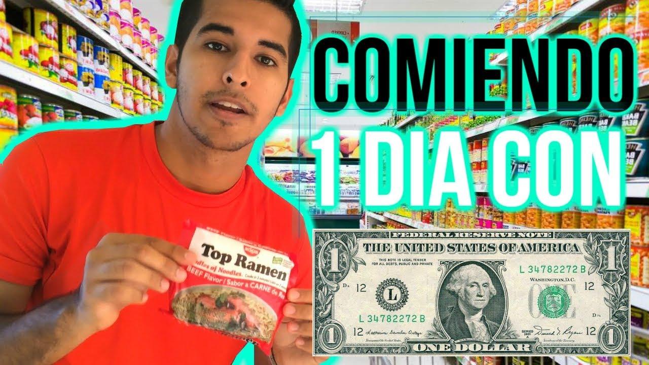 Comiendo Con 1 Dolar En Republica Dominicana 20pesos Mexicanos Luis Vallejo