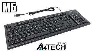 Обзор клавиатуры A4Tech KR-85