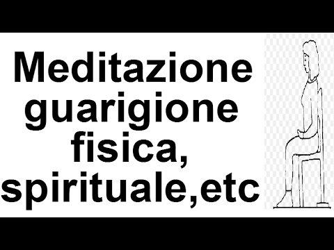 Meditazione guarigione fisica,emozionale,spirituale