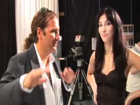 LINA MORGANA REAL STAR OF ''COPY CAT LADY GAGA'' INTERVIEWED BY TV HOST ''FRED COSCIA''