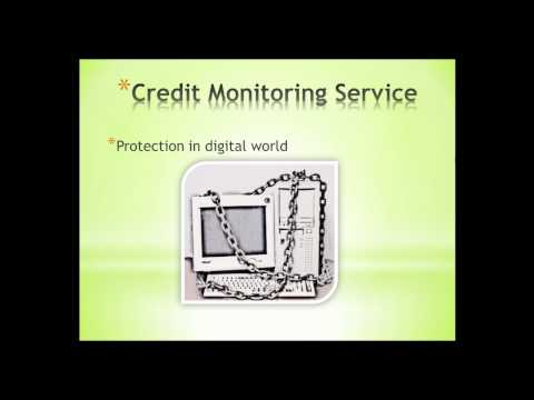 Credit monitoring service reviews