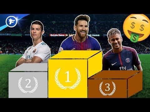 Salaires : Messi explose les compteurs devant CR7 et Neymar | Revue de presse thumbnail