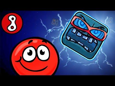 КРАСНЫЙ ШАРИК против чёрного квадрата ЧАСТЬ #8 игра Red Ball 4 на канале Мистер Игрушкин