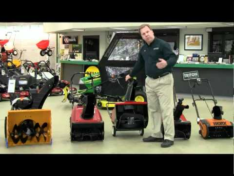 Buyer's Guide to Snowthrowers and Snow Blowers
