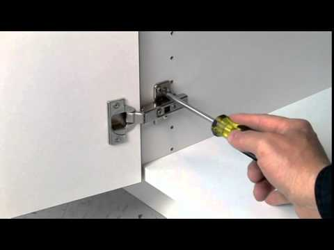 Frameless Cabinet Door Hinge Adjustment Guide By Dura Supreme