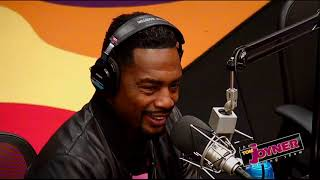 Comedian Bill Bellamy stops by the Tom Joyner Morning Show