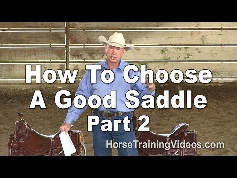 Saddle Video Series - Part 2
