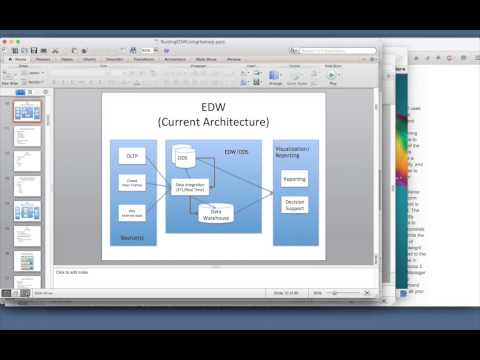 Data Warehouse using Hadoop eco system - 03 OLTP - ODS - EDW