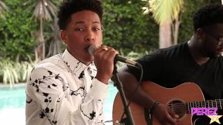 "Jacob Latimore - ""Heartbreak Heard Around The World"" (Acoustic Perez Hilton Performance)"