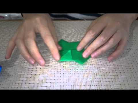ハート 折り紙:折り紙 やっこさん 折り方-youtube.com