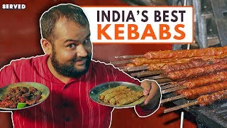 Ghalib Kabab Corner – Kebab heaven in India | Best Indian Street Food | Served #17