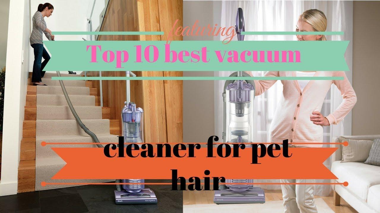 top 10 best vacuum cleaner for pet hair