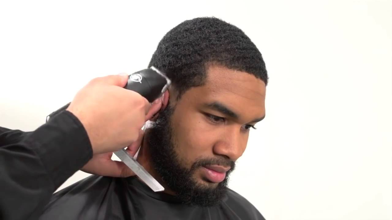 Short Haircut For Black Men Haircut For Black Men Youtube