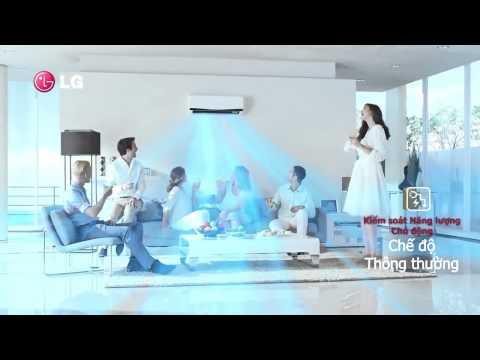 Giới thiệu máy điều hòa LG Inverter  2014 tiết kiệm điện