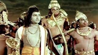 Sampoorna Ramayanam Movie Climax Scene....