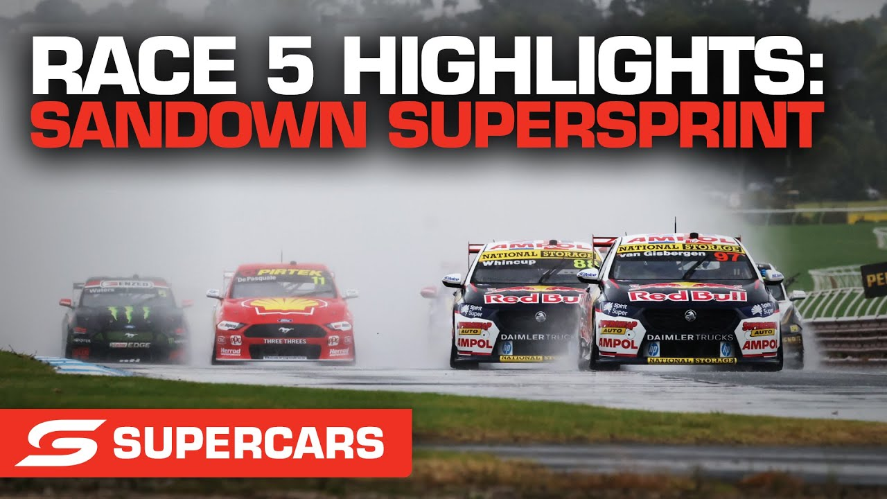 Race 5 Highlights - Penrite Oil Sandown SuperSprint | Supercars 2021