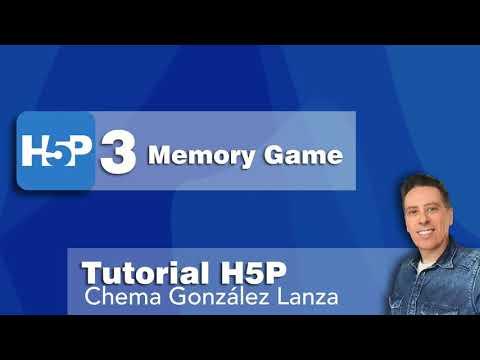 3 H5P: Memory Game |