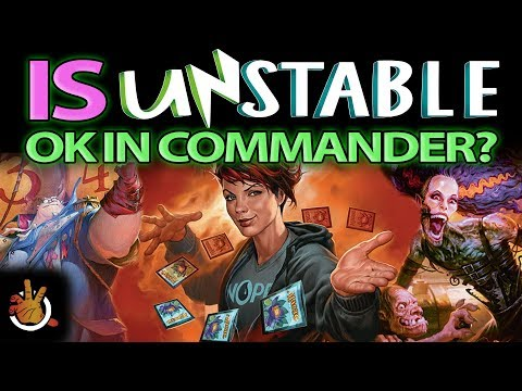 Unstable Cards in Commander| The Command Zone #188 | Magic: the Gathering Commander/EDH Podcast