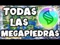 Cómo CONSEGUIR TODAS las MEGAPIEDRAS 💎✨ en POKÉMON Let's GO PIKACHU y EEVEE (LOCALIZACIÓN)