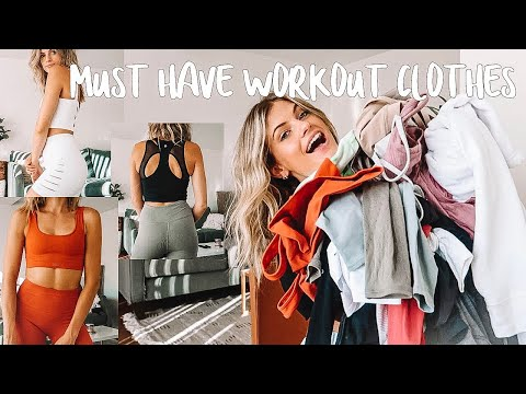 MY FAVORITE WORK OUT CLOTHES (try on)