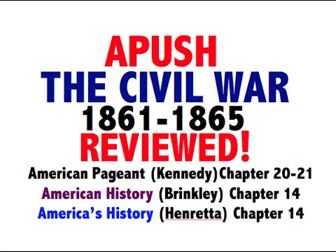 American Pageant Chapter 20-21 APUSH Review