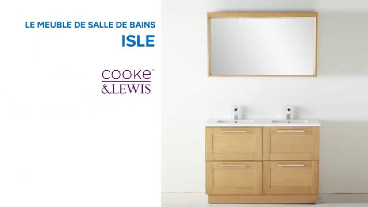 meuble de salle de bains isle cooke lewis 667471 ca doovi. Black Bedroom Furniture Sets. Home Design Ideas