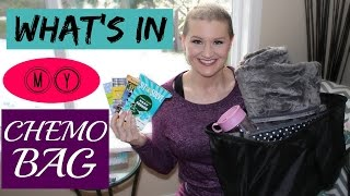 What's In My Chemo Bag | What To Get Someone Who Is Going Through Chemo
