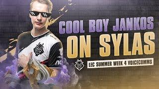 Cool Boy Jankos On Sylas | LEC Week 4 G2 Voicecomms Summer Split