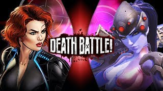 Black Widow VS Widowmaker (Marvel VS Overwatch) | DEATH BATTLE!