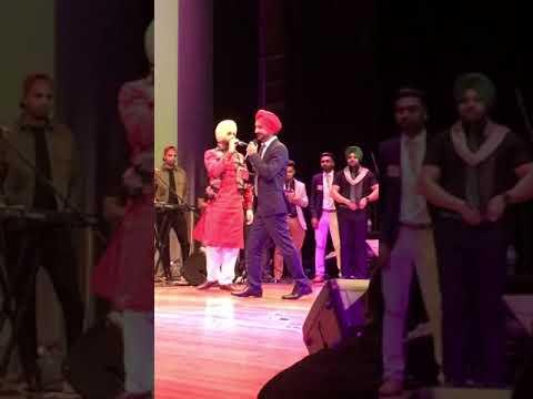 Teeje week song live performed by jordan sandhu   melbourne   Australia