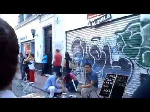 Travel Video #1 - Walking through San Telmo, Buenos Aires Argentina!