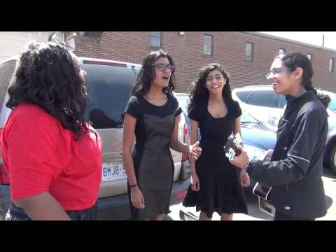 Singing In the Parking Lot Teen Talent 2013
