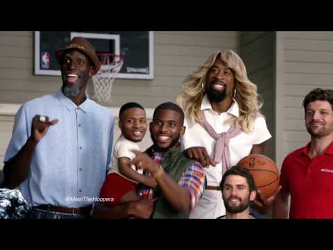 The Hoopers feat Kevin Love, Chris Paul, Deandre Jordan, Kevin Garnet and Damian Lillard
