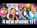 I SURPRISED MIRAH ,KAM DEJAH, & MACEI WITH NEW IPHONE 11