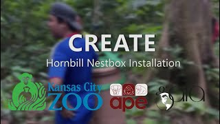 APE Malaysia CREATE - Hornbill Nestbox Installation