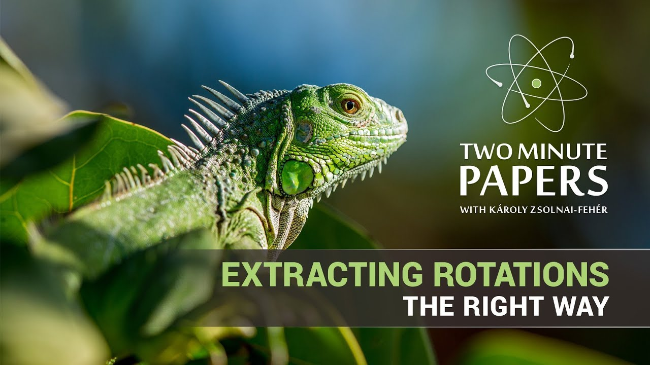 Extracting Rotations The Right Way - YouTube 023dd9ce72