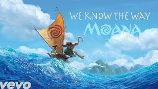 "Moana - We Know The Way LYRICS from Disney's ""Moana"""