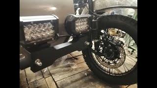 #14.Круче чем ЧЕЛЕНТАНО. Итальянские ништяки на мотоцикл URAL.