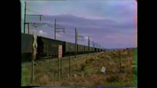 Black Mesa & Lake Powell electric Railroad in Arizona -- 09-18-1983