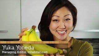 How to eat banana peels - with Yuka Yoneda