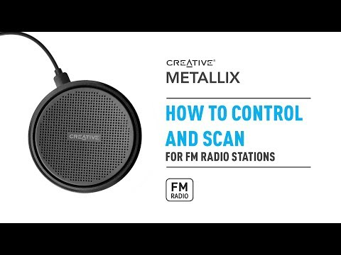 Creative Metallix - Controlling and Scanning FM Radio