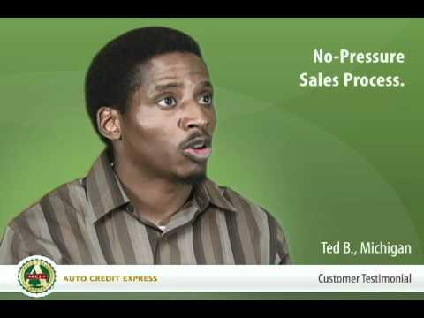 No-Pressure Sales Process - Auto Credit Express Customer Testimonial