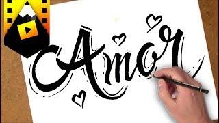 como dibujar amor | how to draw amor