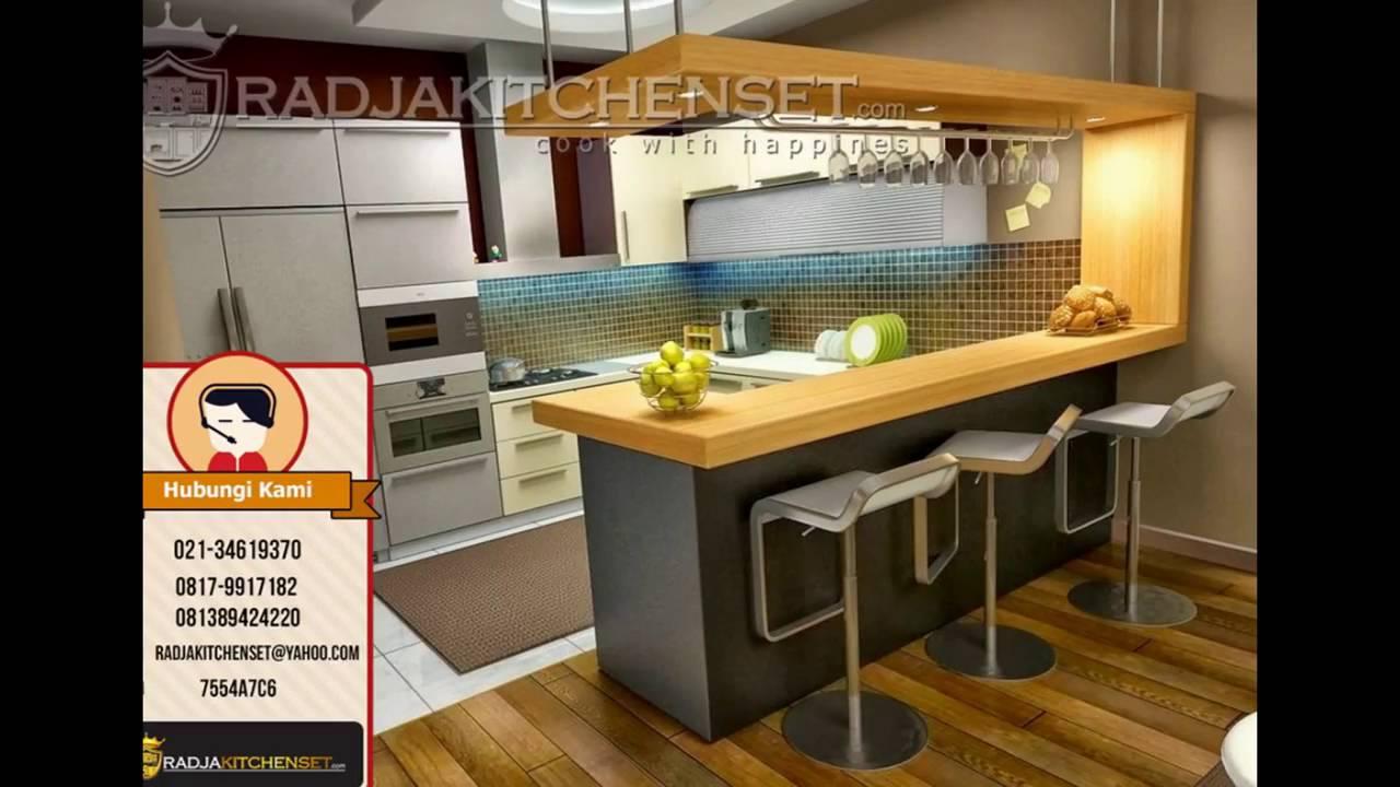Jual Kitchen Set Yang Sudah Jadi 081389424220 Youtube