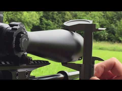 Zielfernrohr einschießen einstellen und klicks berechnen