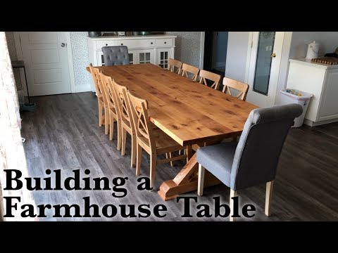 Custom Farmhouse Table Build