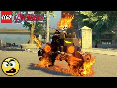 LEGO Avengers (Vingadores) Motoqueiro Fantasma - Criando Personagens
