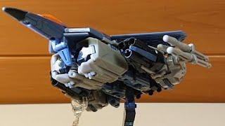 <玩具レビュー>F-22(?)から変形 トランスフォーマー MD-19サンダークラッカー~Transformation from F-22? TRANSFORMERS ThunderCracker~